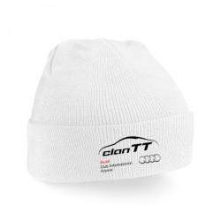 Bonnet Adulte Uni avec revers Clan TT
